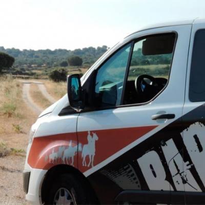 Traslados en furgoneta en Cáceres